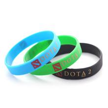 Latest Fashion Silicone Bands Rubber Bracelet Women Silicone Dota 2 Wristband Bracelet Men Jewelry London Souvenirs Wholesale