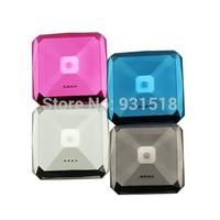 High quality power bank mobile phone external battery diamond design power bank for iphone HTC Samsung  100pcs/lot