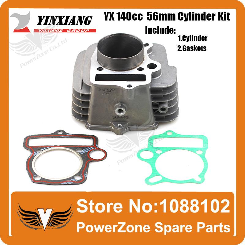 YinXiang YX 140cc 56mm Cylinder Gasket Kit Fit KAYO IRBIS GPX PIT PRO Dirt Bike Pit