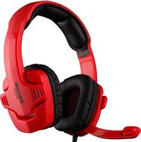 Free shipping New Arrival !SADES SA-901C Headband 7.1 Surround Gaming Stereo Cobra Design For PC USB Port RED