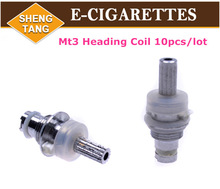 MT3 Atomizer Coil Head Core Bottom Heating Detachable Coils Replaceable T3 Cartomizer Coil Head for Electronic Cigarette