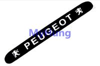 car decoration sticker brake light sticker carbon fiber for Peugeot 206 307 1pc