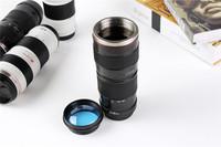New 1:1 Camera 70-200mm L Camera Lens Mug Coffee Cup Caniam  C Series Lens Thermos Mug/Cup 400ml 20PCS/lot