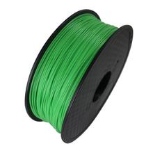 Green Color 3D Printer Filament PLA 1.75mm 1kg Plastic Rubber Consumables Material