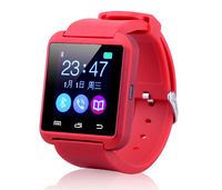Factory Sales! Smartwatch Bluetooth Smart Wrist Watch U8 UWatch+ for iPhone 5/5S/6 Samsung S5 Note2/3/4 HTC Android IOS Phones