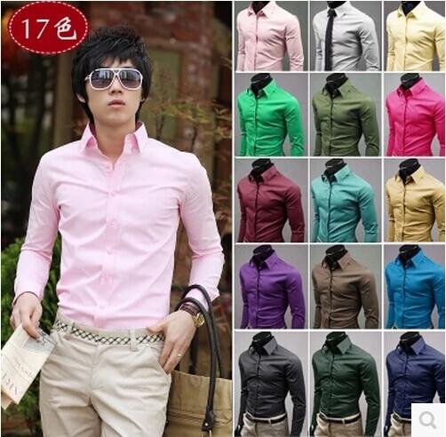 Мужская повседневная рубашка Men shirt Homme Camisa Giyim Slim Fit Camiseta Masculina Poleras Hombre 13ccs088 yec ccs pcu