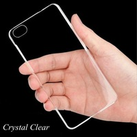 $0.59/Pcs Ultra Thin Slim Plastic & TPU Transparent Case for iphone 6 4.7 Inch Crystal Back Cover for Apple iphone 6 Plus 5.5