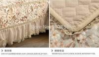 Free shipping-Fallen style-European high-end decorative Bulei Si pastoral style sofa cushion sofa towel Four Seasons models skid