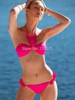 2015 new style bikini fashion swimsuit swimwear women sexy triangle bikini biquini vintage