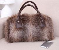 2015 top quality women fashion fur handbags women message bags women shoulder handbags brand drop shipping 275D