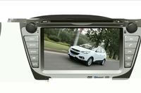 IX35/ TUCSON IXTouchscreen DVD GPS Navigation Radio Bluetooth Steering Wheel Control SD Card/USB Car Rear Camara with Map