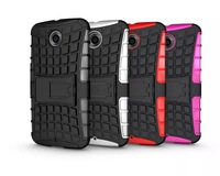 Super Hybrid PC&TPU 2 in 1 Spider Armor Dropproof Case For LG Google Nexus 6 Camboo Cases With Stand Free Shipping