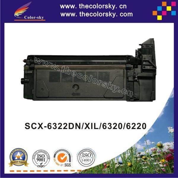 (CS-S6320) print top premium toner cartridge for SAMSUNG SCX6322XIL SCX6320 SCX6220 SCX 6322DN 6322XIL 6320 6220 bk 8k free dhl(China (Mainland))