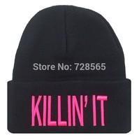 Free shipping Killin' It Fashion Toucas BBOY Toucas Winter Hat Beanies Skullies for Men Women Toucas De Inverno Gorros Bonnets