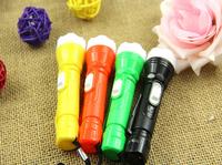 new 2014 camping light lanterna 1 LED 48 piece/lot battery include tactical led torch lights lantern shocker led flashlight