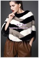 BG70823  2014 Genuine Full Pelt  Mink Fur Winter Women's pullover