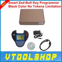 Top 2014 Mini Smart Zed-Bull Key Programmer Black Color No Tokens Limitation Smart Mini Zed Bull Mini ZEDBULL Free Shipping