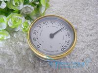 10pcs/lot Quality Importers Analog Hygrometer, 66mm Round Glass Analog Hygrometer for Humidors Plasitic