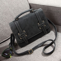 Hot-selling 2014 new arrival autumn and winter candy color motorcycle vintage women's handbag one shoulder cross-body women's