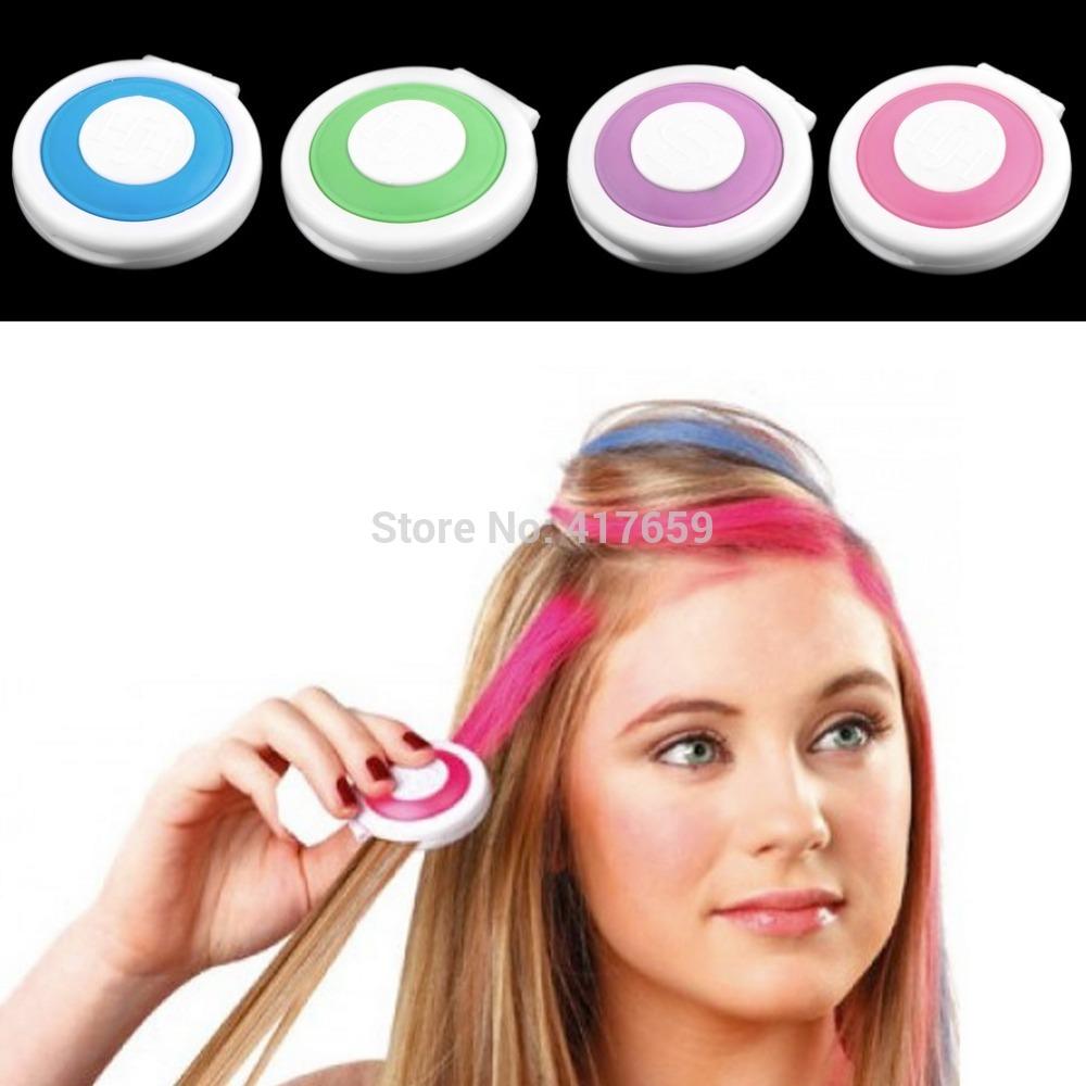 Временная краска для волос в домашних условиях
