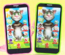 trasporto libero simulatore music phone touch screen per bambini giocattolo macchina di apprendimento elettronico giocattolo del bambino telefono 5 4019-062(China (Mainland))