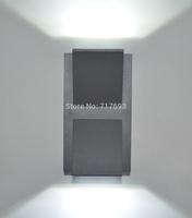 Modern high-end fashion  LED mini wall lamp  outdoor wall lamp Entrance hall lights corridor  lights 2 light 6W
