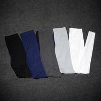 Thread high-elastic basic thin all-match elastic waist legging 14.9 chromophous