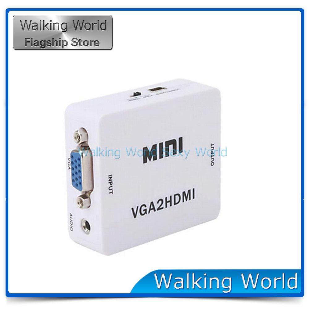 HDMI Walking World 1080P VGA HDMI HD 3,5 HDtv MAC BE12002100400  hdmi кабели wire world ultraviolet 7 hdmi 5 0m