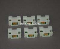 Free shipping: PFI-206 BK,MBK,C,M,Y,R ink tank chips for canon imageprograf IPF6400SE printer