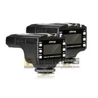 2pcs Oloong  Wireless ITTL Flash Trigger 800-RT LCD 1/8000s for Nikon D7100 D7000 D5200 D5100 D5000 D3200 D3100 D3000