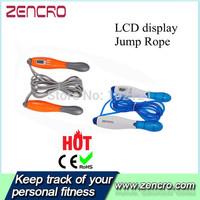 LCD Display Colorful Digital PVC Jump Rope Crossfit Skipping Rope