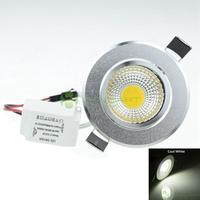 7W LED COB  580LM  6000-6500K  Cold White Light LED Ceiling Light Led Down Light