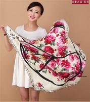 100% square silk scarf hijab floral women silk scarf shawl wholesale free shipping
