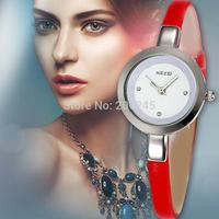 Kezzi Watch 2015 New Fashion Women Quartz Watches Lovely Girl Bracelet Clock Leather Strap Ladies Wristwatch Montre Femme