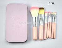 Sweet Pink  Cosmetic Brush   Makeup Brushes Set Wooden Makeup tool  ( 100 pcs/lot )