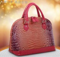 New Woman Bags Handbag Crocodile Pattern Genuine pu Leather Women Bag Women Aligator Clutch Bag Messenger Shoulder Bags BK057