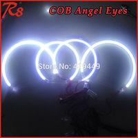 SUPER BRIGHT 4 PCS/SET COB LED ANGEL EYES HALO RINGS KIT FOR BMW E53 X5 99-04 HEADLIGHTS WHITE BLUE YELLOW RED GREEN