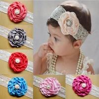 Hot Sale Kids Summer Flower Headband Baby Hair Accessories Free Shipping 10pcs/lot