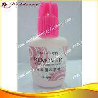 Pink gel remover for eyelash extensions (15g) 10bottles/Lot pink remover