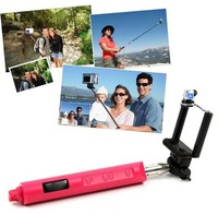 Brand New Handheld Bluetooth Selfie Monopod Extendable For iPhone Samsung  #D