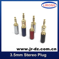 Free shipping 10pcs Jack 3.5 mm Audio Connector For 4mm Cable Adapter