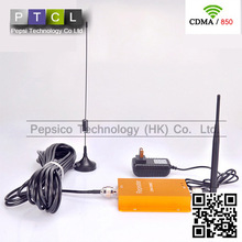 CDMA 850MHz / 850 Mhz wifi / Wi fi Wireless Signal Booster /  Repeater with Sucker Antenna Drop Shipping