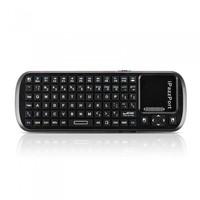 iPazzPort 84 Keys Mini Handheld Wireless Bluetooth Keyboard Touchpad Scroll Bar for Smart TV Tablet PC