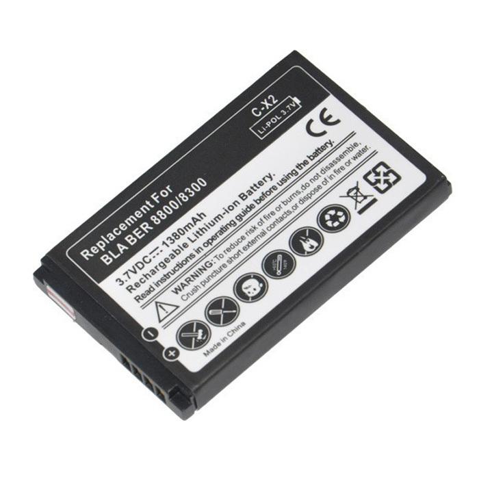 Original C-X2 C X2 High Capacity Li-ion Battery for Blackberry 8350 8350i 8800 8820 8830 Mobile Phones batteries Batterie(China (Mainland))