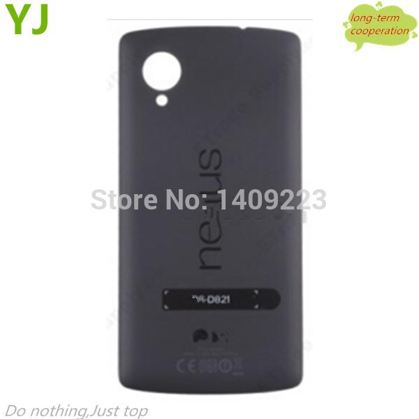 Para LG Google Nexus 5 D820 bateria porta habitação com NFC OEM - preto(China (Mainland))