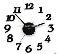 Creative DIY wall clock Creative digital wall clock Art clock digital wall clock interesting clock