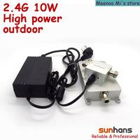 Enterprise-level high power 2.4G 10w wifi signal booster outdoor(SH24Go10W)