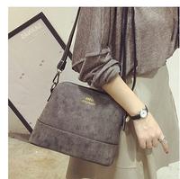 2014 winter vintage messenger bag nubuck leather shell bag Small women's handbag mini bags