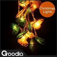 Christmas Lights Heart Sharp LED Strip Light Rattan Decoration Balls Wedding Garden Lamps 20Balls Strip Light
