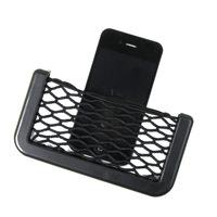 Shun Wei SD-1031 box car phone holder car supplies phone mesh net bag with a string bag compartment